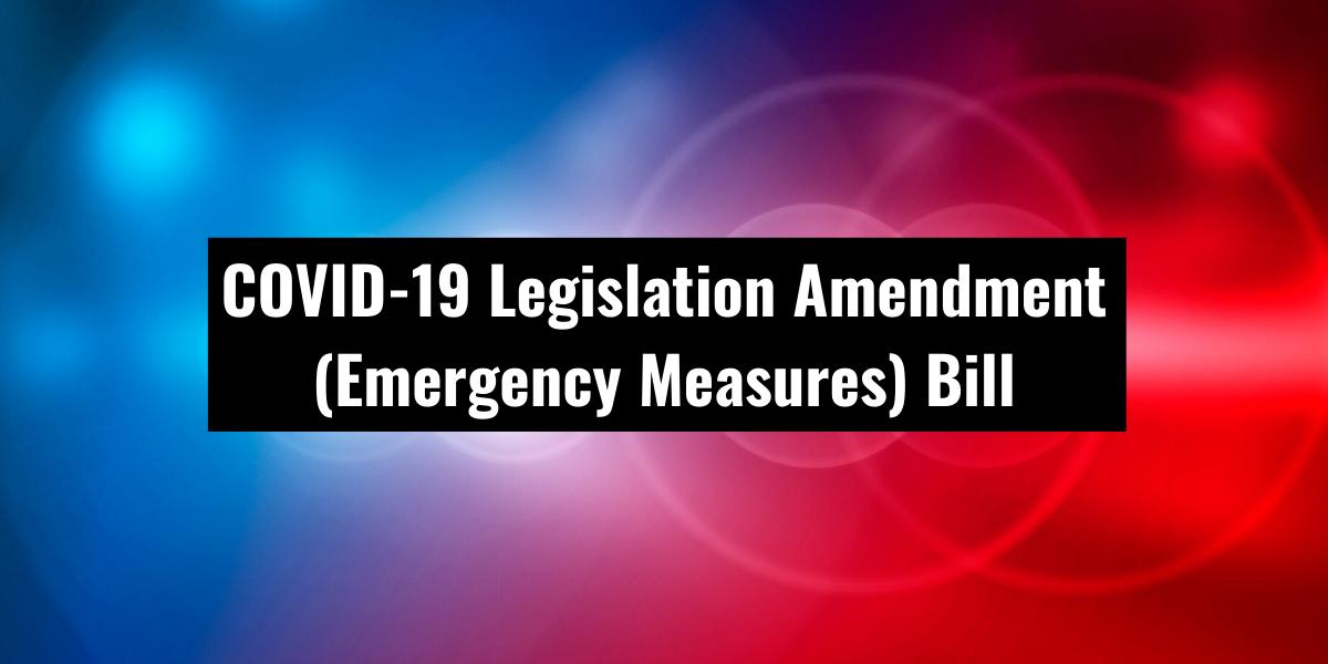 Covid-19 new laws
