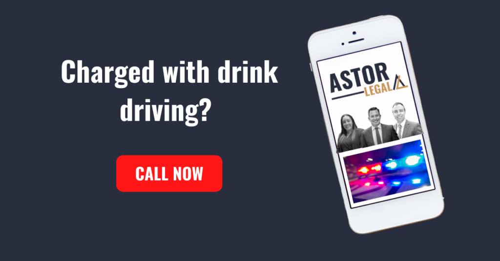 Have you been charged with drink driving?