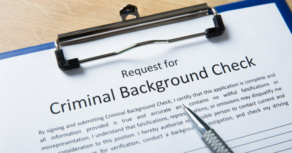 Convictions must be disclosed on criminal background checks