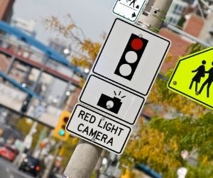 red light camera fine