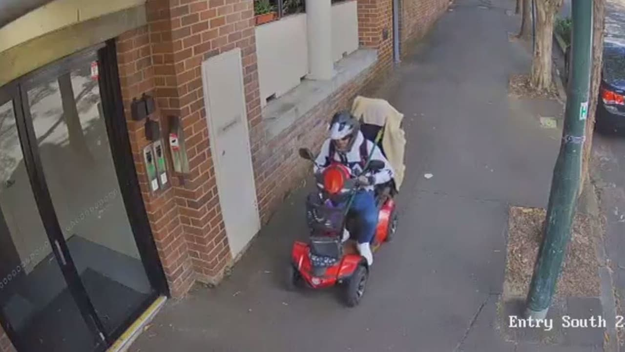 mobility scooter larceny