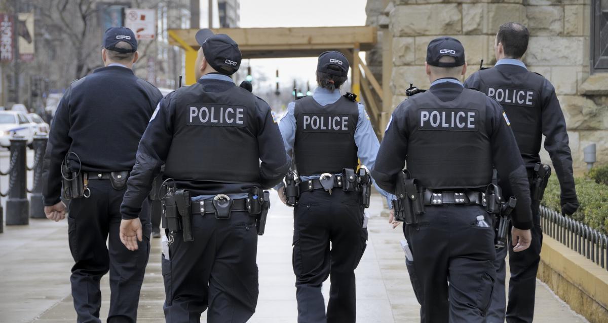 assault police
